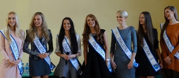 Finalistki Miss Polski 2015 w naszej szkole