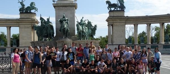Krętymi uliczkami Budapesztu i nie tylko…