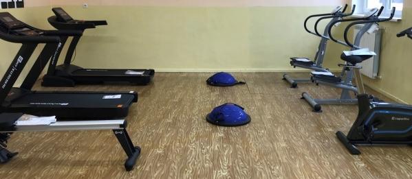Nowa sala fitness już prawie gotowa.